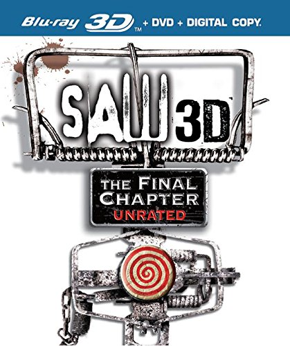 Saw The Final Chapter 3D [Blu-ray + DVD + 3D Blu-ray]