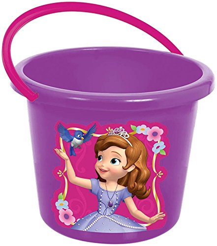 Princess Bucket Set (Sofia The First Jumbo Plastic Favor Container)