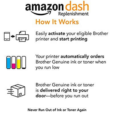 Brother Genuine Standard Yield Toner Cartridge, TN630, Replacement Black Toner, Page Yield Up to 1,200 Pages, Amazon Dash Replenishment Cartridge
