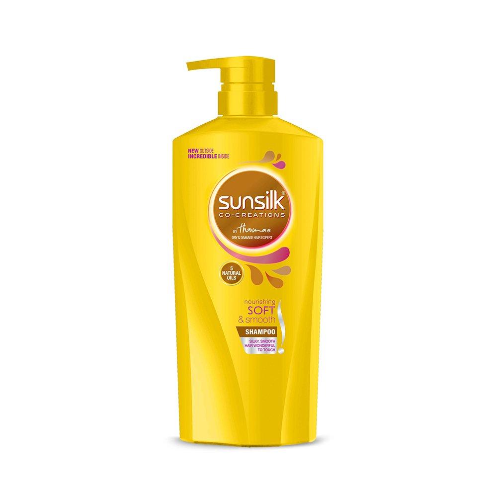 Sunsilk Nourishing Soft & Smooth Shampoo 650ml