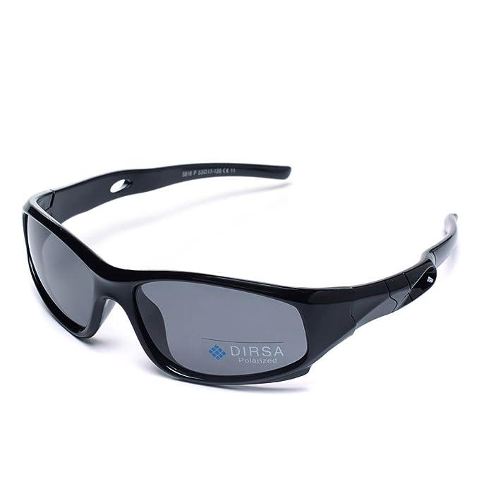 Amazon.com: Gafas de sol polarizadas de estilo deportivo con ...