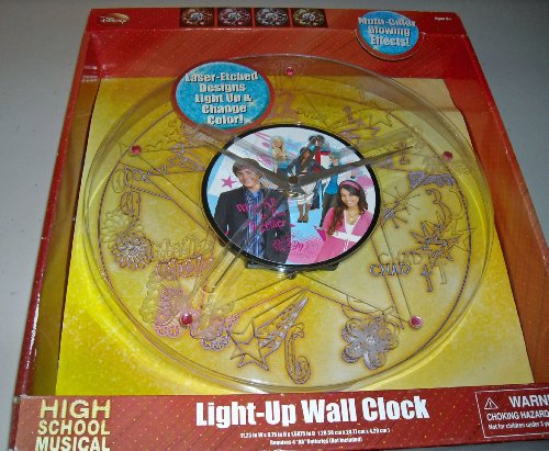 Disney High School Musical Wall Clock