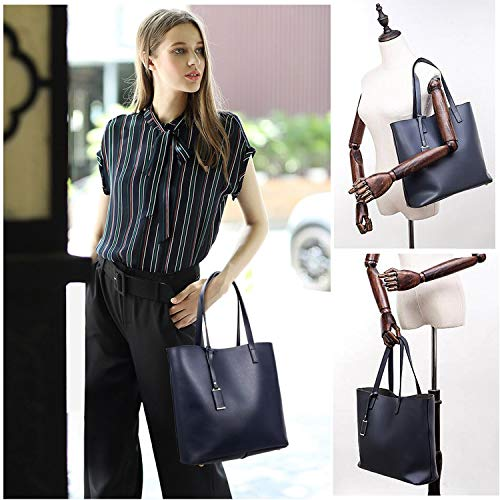 Shoulder Designer TcIFE for Bags Satchel Womens Ladies Handbags Tote Blue H4qOWY