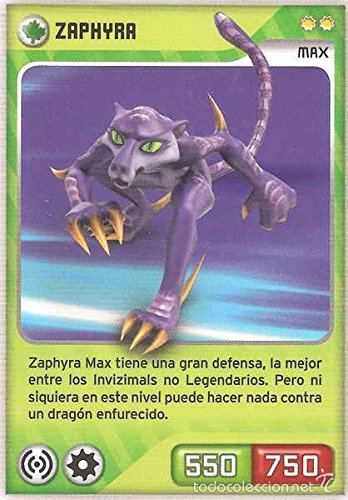 Invizimals Steel Dragon Zaphyra - Ha Ha Yena + 3 cartas de ...