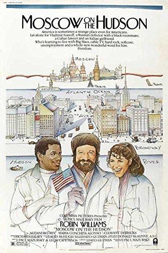 Moscow on the Hudson Poster Movie B 11x17 Robin Williams Maria Conchita Alonso Cleavant Derricks