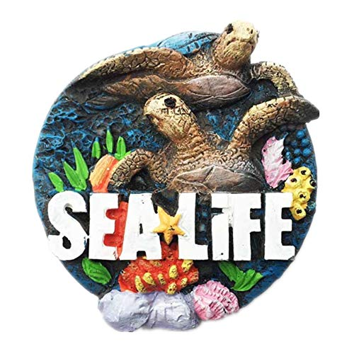 Sea Life Atlanta Georgia America USA Fridge Magnet City Travel Souvenir Collection 3D Resin Handmade Craft Gift