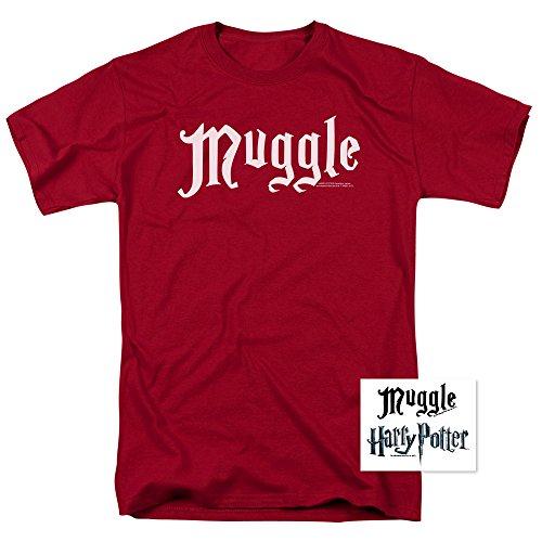 Harry Potter Red Muggle T Shirt (X-Large)