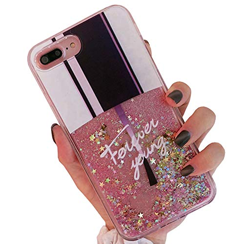 SGVAHY Bling Glitter Quicksand Liquid Case for iPhone Xs Max, Cute Nail Polish Shape Design Hard Back Soft Bumper Shockproof Protective Case for iPhone Xs Max. (A Nail Polish, iPhone Xs Max) (Phone Polish Case Nail)