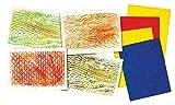 Roylco Texture Rubbing Plates with 8