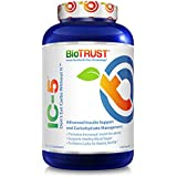 BioTrust IC-5 Keto Supplement | Get into Ketosis Faster and More Deeper Levels of Ketosis | Enhance Insulin Sensitivity | Perfect for Keto, Low Carb, and Paleo Diets | 120 Capsules