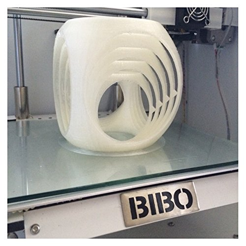 BIBO 3D Printer Metal Frame Dual Extruder Laser Engraving WIFI Touch Screen  Cut Printing Time In Half Filament Detect Removable Glass Bed