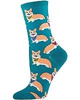 Socksmith Corgi Emerald Socks