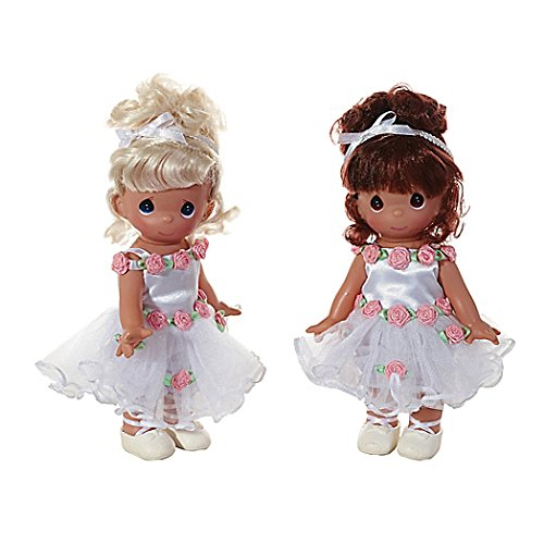 The Doll Maker Beautiful Ballerina Blonde and Brunette Twin ACLNY 3558; 3559