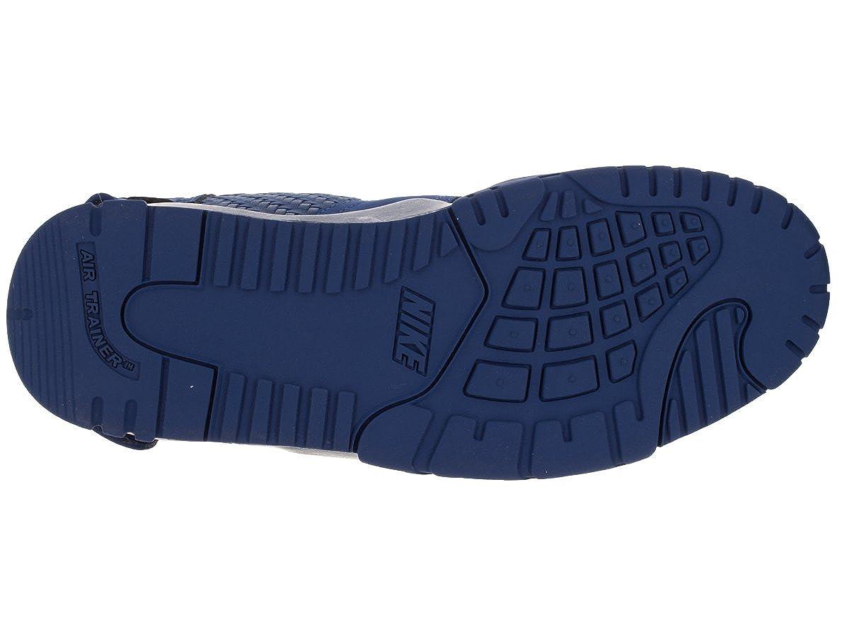 size 40 ec43d 8bb6a Amazon.com   Nike Men Air Trainer Victor Cruz Premium (Blue Rush Blue Gym  red) Size 8.0 US   Fitness   Cross-Training
