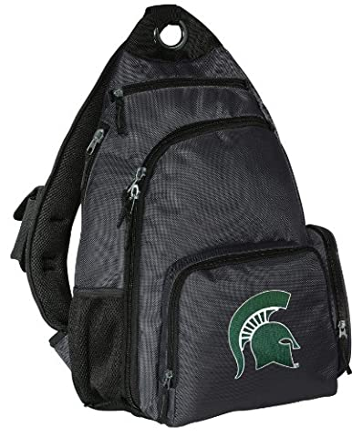 Michigan State University Backpack Cross Body Michigan State Sling Bag - State Sling Backpack