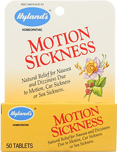 Hyland's (NOT A CASE) Motion Sickness, 50 Tablets