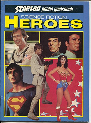 Science Fiction Heroes 1980-Starlog-Wonder Woman-Mark Hamill-Leonard Nimoy-FN