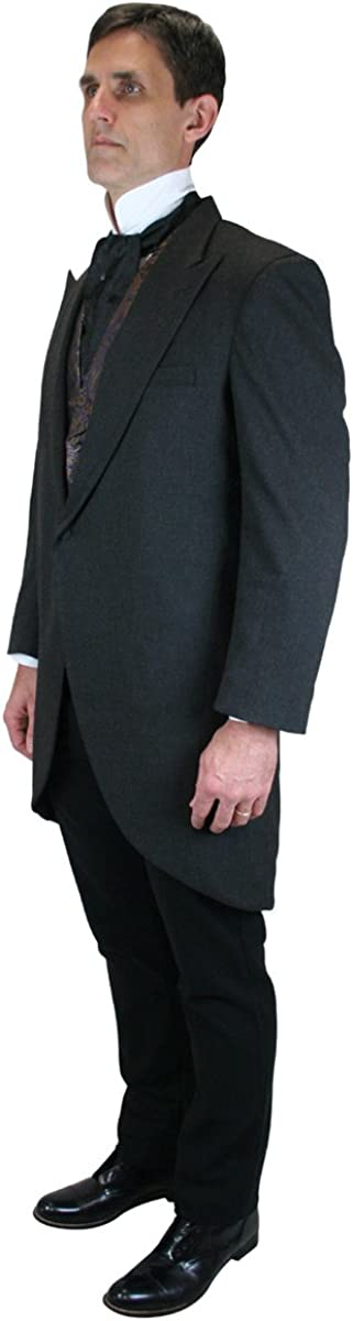 1920s Men's Suits History Traditional Cutaway Coat $165.95 AT vintagedancer.com