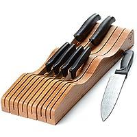 Bambusi Bamboo kitchen knife Holder Block