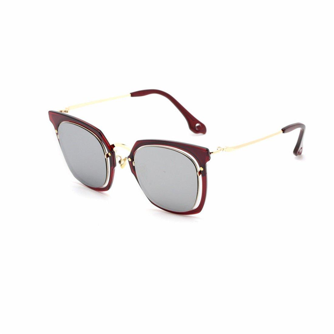 GUO Moda Gafas de Moda, Gafas de Sol, Personalizado: Amazon ...