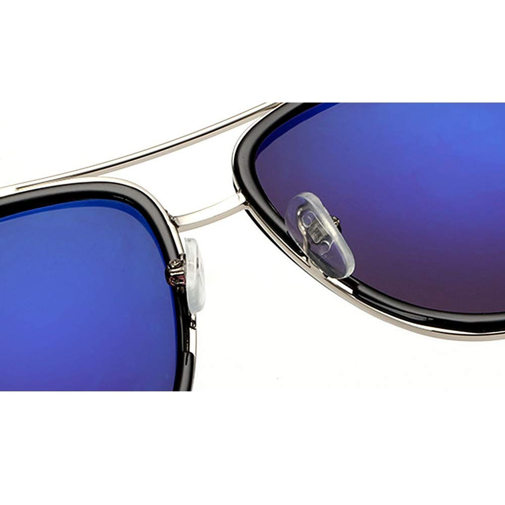 Wang-RX Gafas de sol hombre Steampunk Gafas de sol Hombre ...