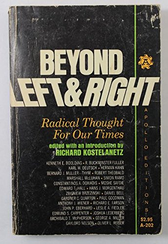 Image for Beyond Left & Right: Radical Thoughts for Our Times