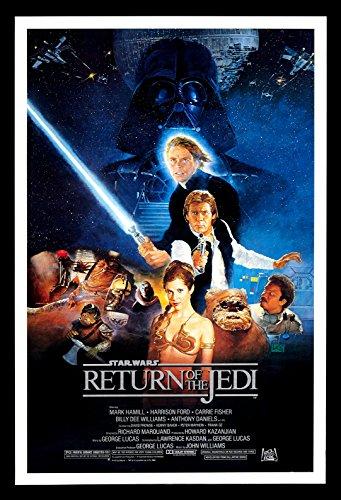 Star Wars Return of The Jedi FRIDGE MAGNET 6x8 Magnetic Movie Poster by Fridge Magnet World