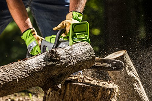 Earthwise 14-Inch Battery Chainsaw