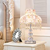 HH Crystal Lamp Bedroom Warm Bedside Lamp European Creative Led Energy Saving Lamp