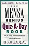 img - for The Mensa Genius Quiz-a-day Book book / textbook / text book