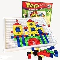 Gearmax® 420pcs Creativo Mosaico Puzzles Infantiles Rompecabezas Mosaico Rompecabezas Pintura Bloques de Construcción de…