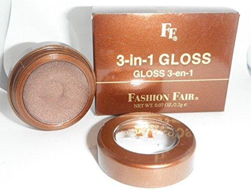 Fashion Fair 3 in 1 Gloss Pot for Lips Eyes and Cheeks Bombshell 8827 (Fashion Fair Lip Gloss)