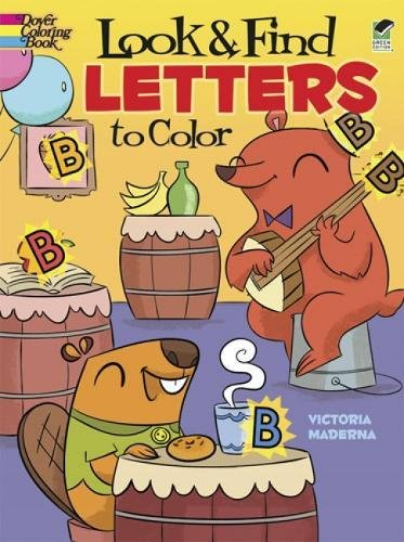Letters Color Dover Coloring Books product image