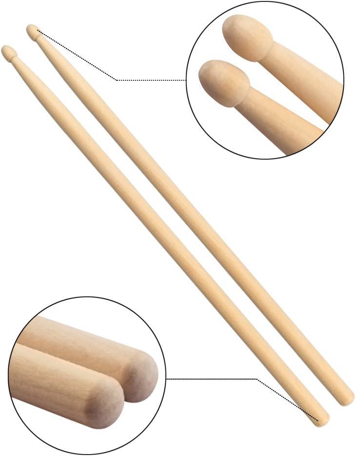 21 Drum Sticks Wooden Rubber Stamp No