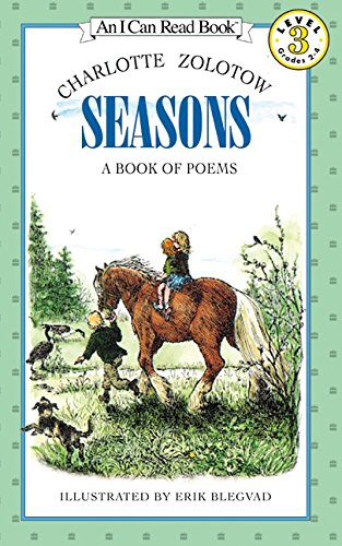 Read Online Seasons: A Book of Poems (I Can Read Level 3) pdf