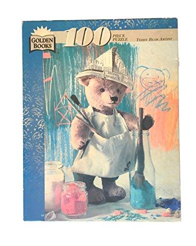 Golden Books Teddy Bear Artist 100 Piece Jigsaw Puzzle