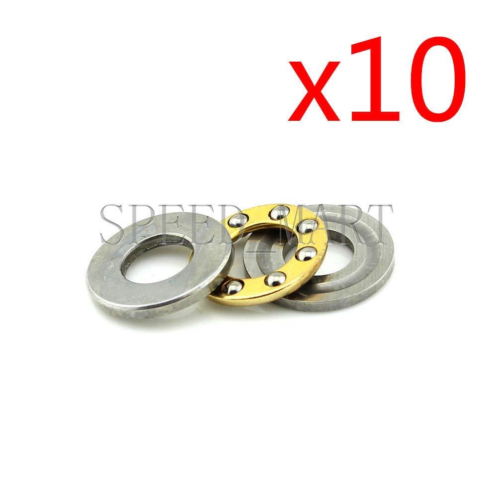 FidgetGear 10 Pezzi Cuscinetti a Sfera F6-14M 6 x 14 x 5 mm