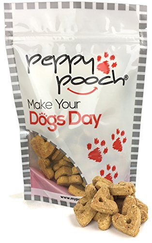 Peppy Pooch Grain Free Oven Baked Dog Biscuits. Cheese and Bacon with Quinoa. 14oz. Bag