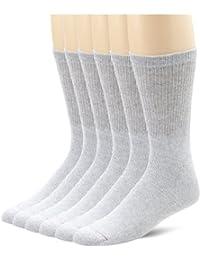 Hanes Men's 6 Pair Cushion Crew Socks