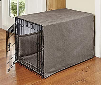 orvis dog crate furniture orvis basic wire cratepad and cover walnut large amazoncom