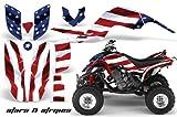 Yamaha Raptor 660 2001-2005 ATV All Terrain Vehicle AMR Racing Graphic Kit Decal STARS AND STRIPES