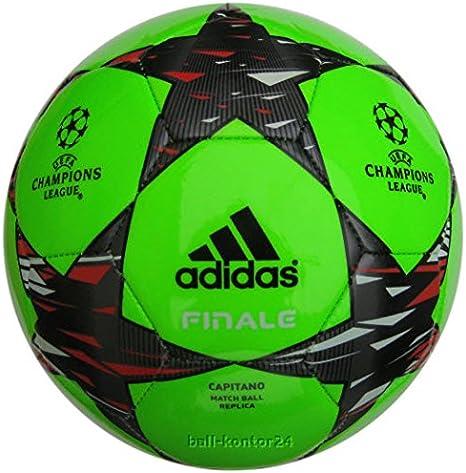 adidas uefa champions league finale capitano match ball green s08449 amazon co uk sports outdoors adidas uefa champions league finale