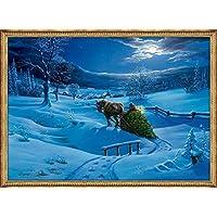 Adventskalender - Winterlandschaft: Kleiner Wandkalender