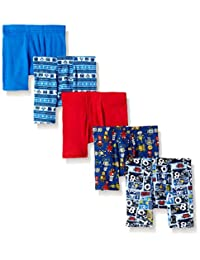 Hanes boys Toddler Boys Toddler 5-pack Comfortsoft Boxer Brief