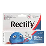Rectify Anesthetic Hemorrhoidal Cream, Rapid Soothing Relief and Comfort, 0.9oz (25.5g)
