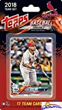 St. Louis Cardinals 2018 Topps Baseball EXCLUSIVE Special Limited Edition 17 Card Complete Team Set with Yadier Molina, Alex Reyes & Many More Stars & Rookies! Shipped in Bubble Mailer! WOWZZER!