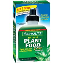 Schultz All Purpose 10 15 10 Plant Food Plus, 4 Ounce