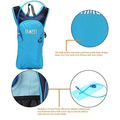 YISMEET Lightweight Hydration Backpack