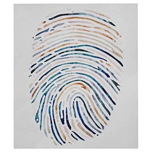 Rivet Multi-Color Canvas Fingerprint
