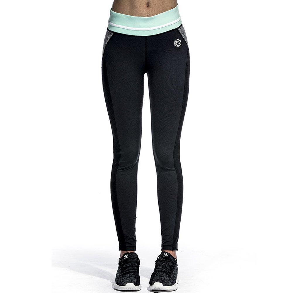 Damen Sporthose Yoga Hose Kompression Leggings Fitness Laufhosen Leggins Jogging